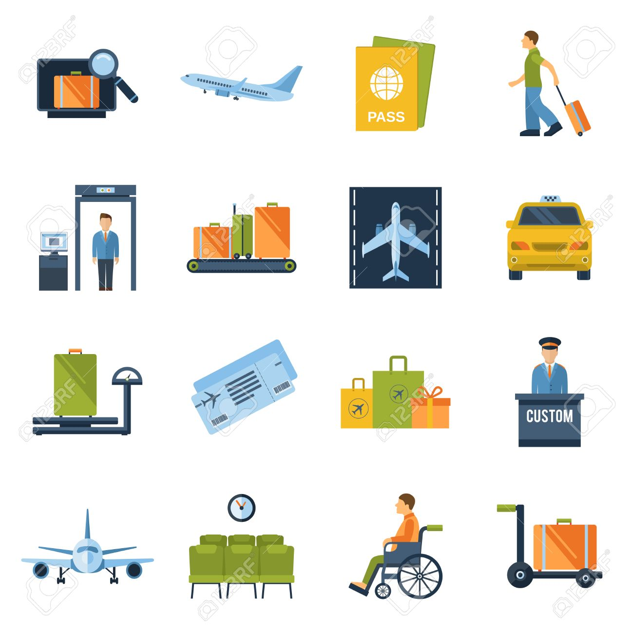 964 Airport Control Tower Cliparts, Stock Vector And Royalty Free ...