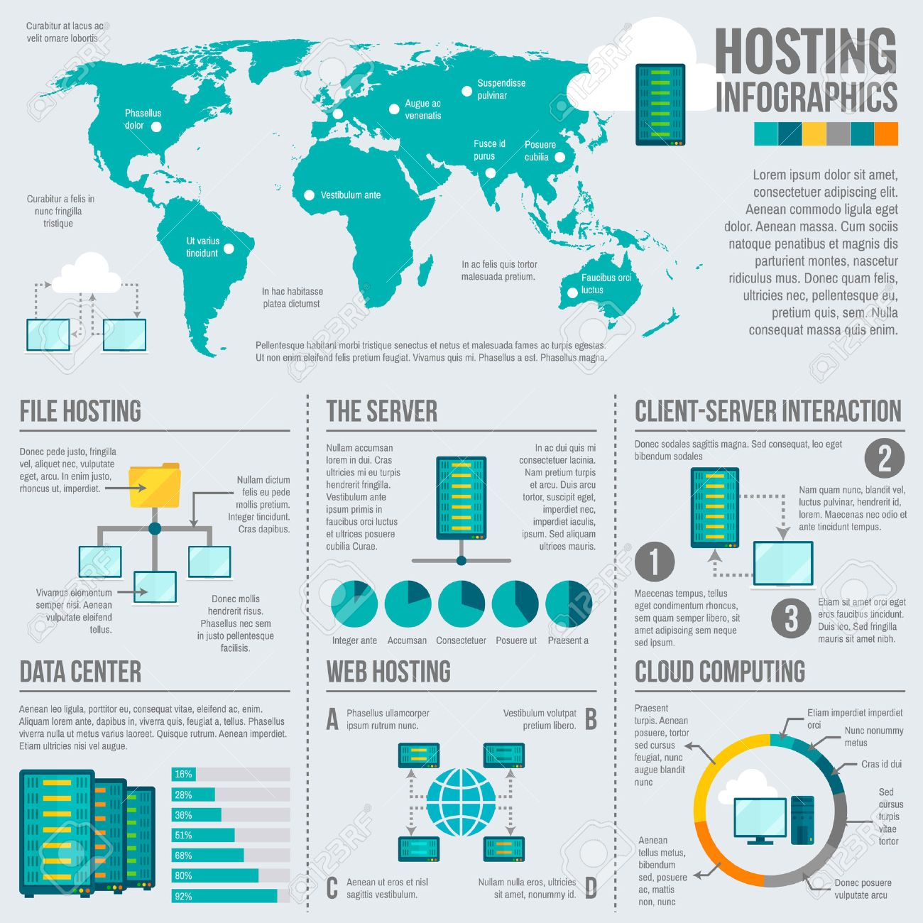 File web hosting cloud computing client server interaction worldwide