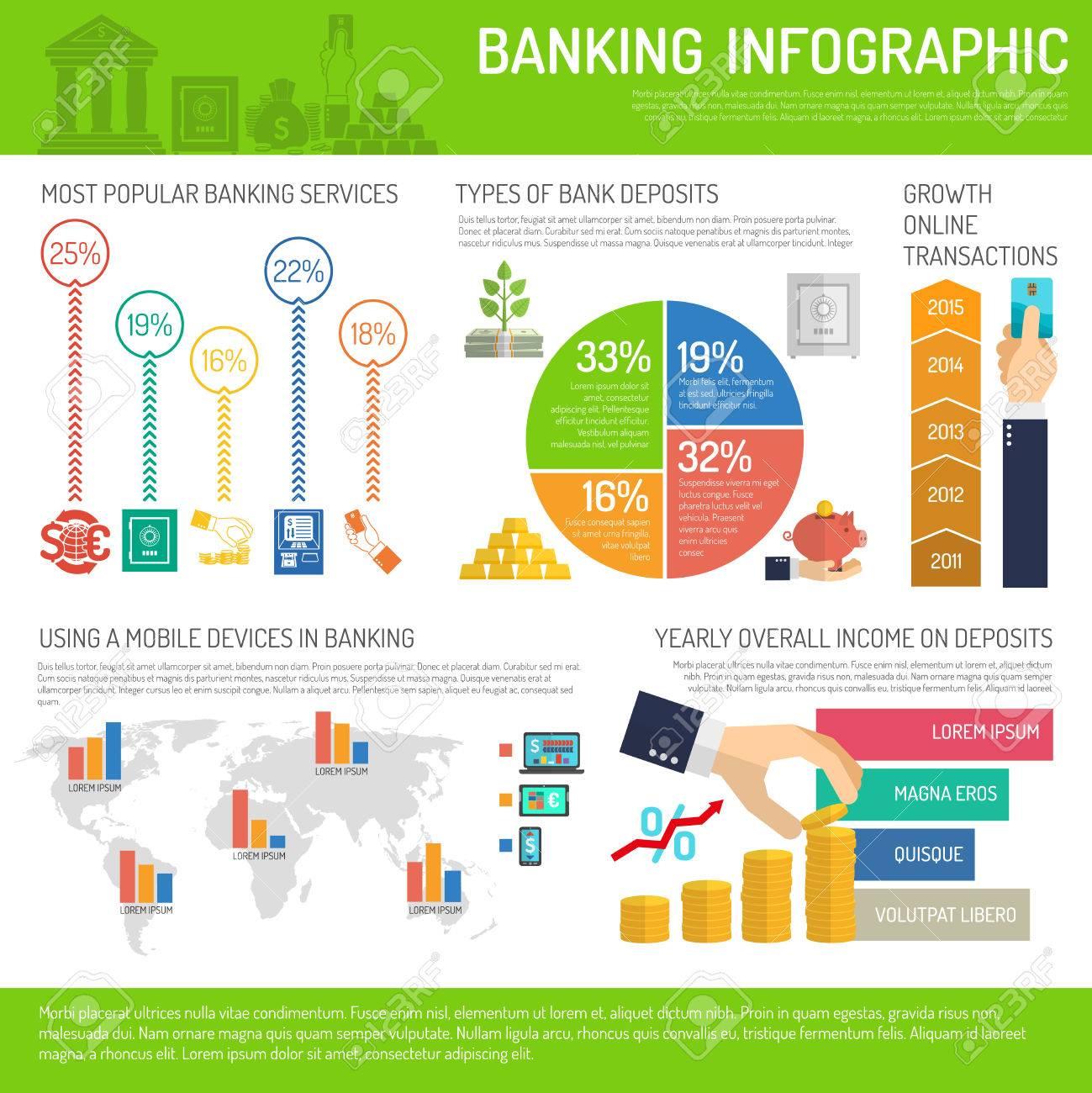 Banking infographics set with finance market symbols and charts banking infographics set with finance market symbols and charts vector illustration stock vector 41535994 buycottarizona