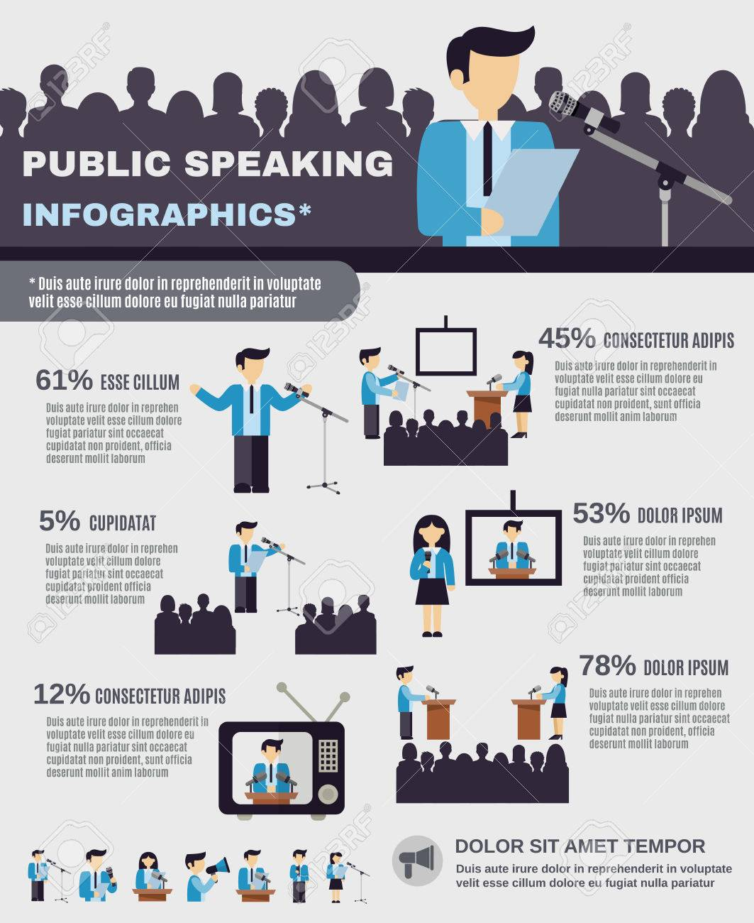 Image result for Public Speaking Easier infographics