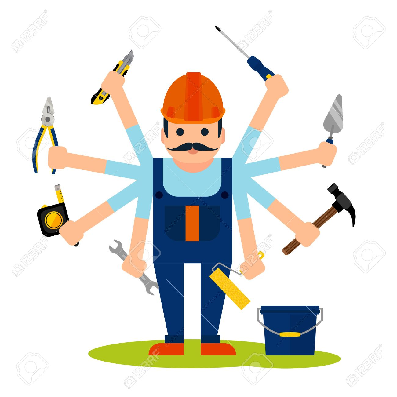 Maintenance Tools Clipart 37118 Movieweb