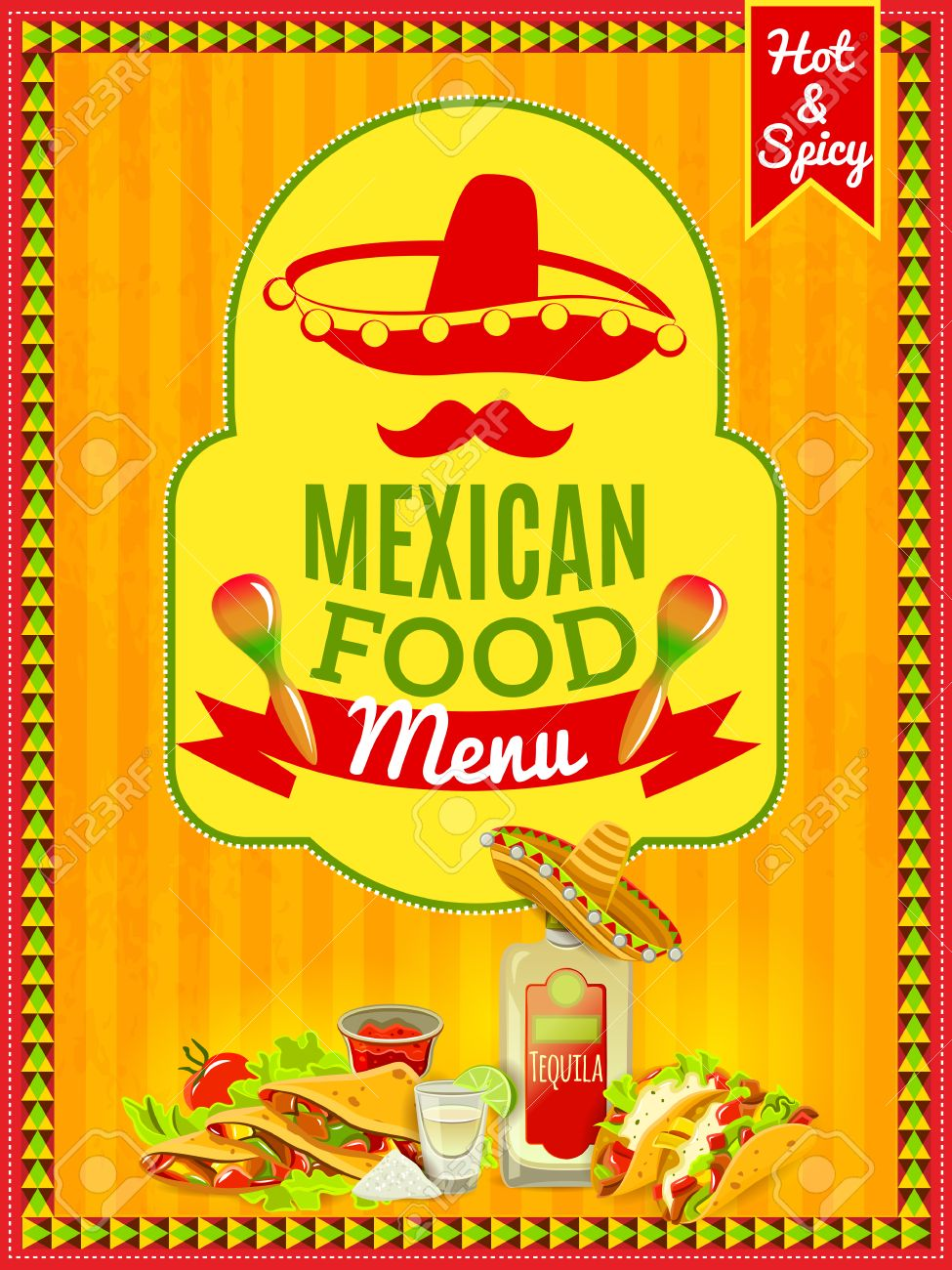 Mexican National Cuisine And Traditional Cafe Restaurant Or Bar ...