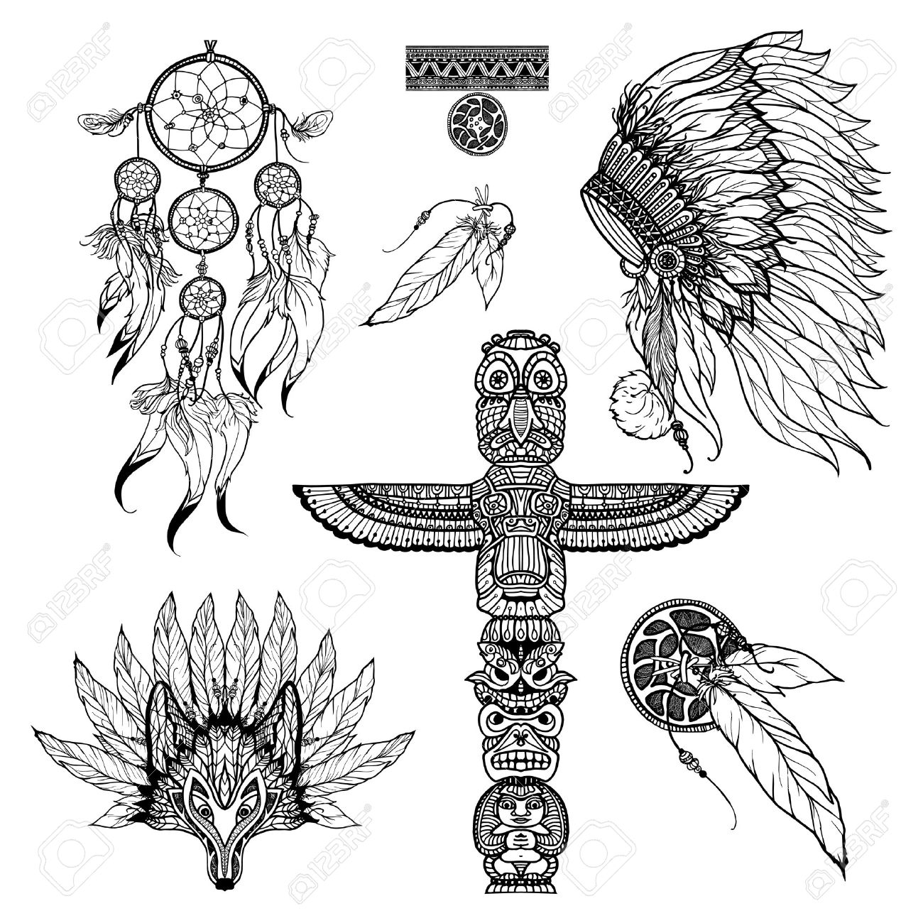 10 193 totem stock illustrations cliparts and royalty free totem