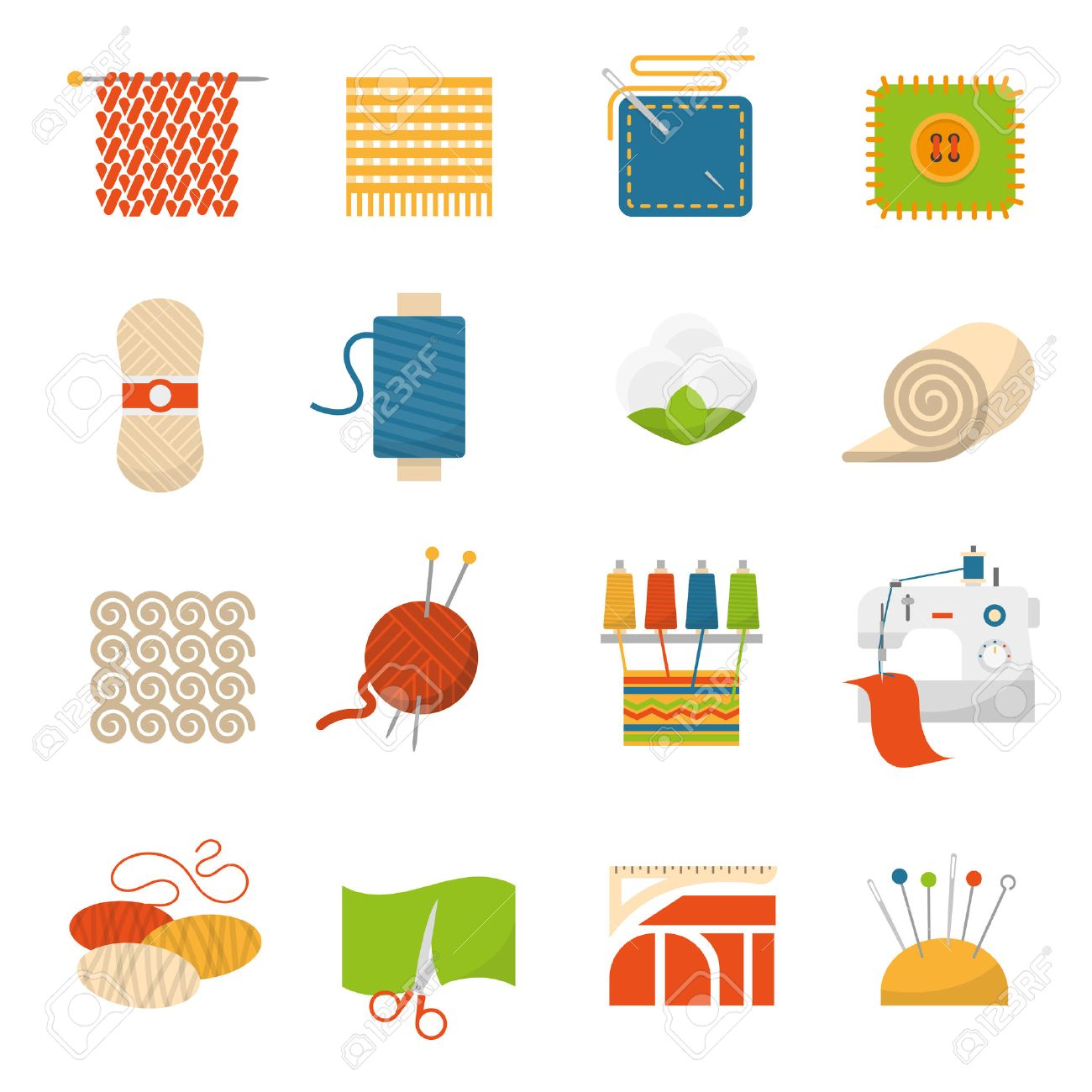 Textile industry flat icons set with clothing manufacture symbols textile industry flat icons set with clothing manufacture symbols isolated vector illustration stock vector 49539487 biocorpaavc Gallery