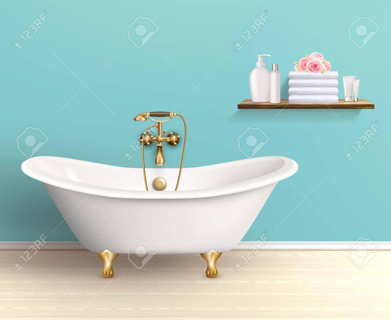 Salle De Bain Et Dressing Dans Chambre ~ Salle De Bains Inter Affiche Ou D Pliant Promo Baignoire Dans La