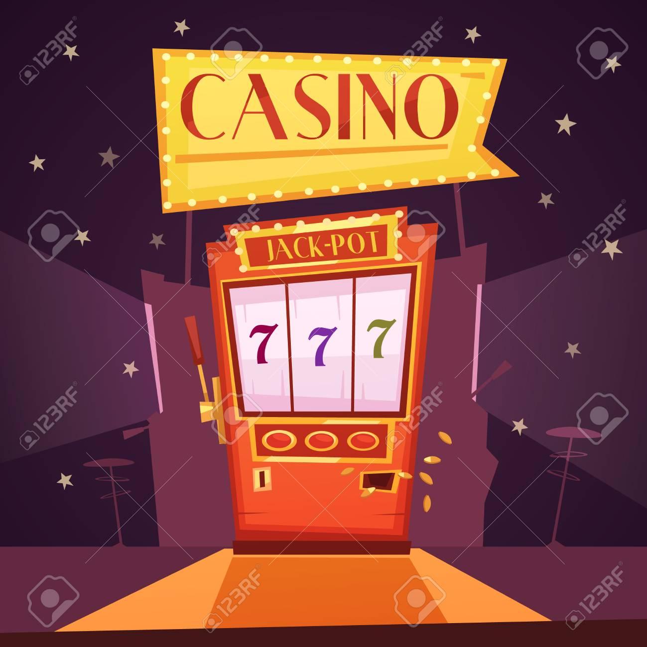 Slot Machine Jackpot Cartoon Pics