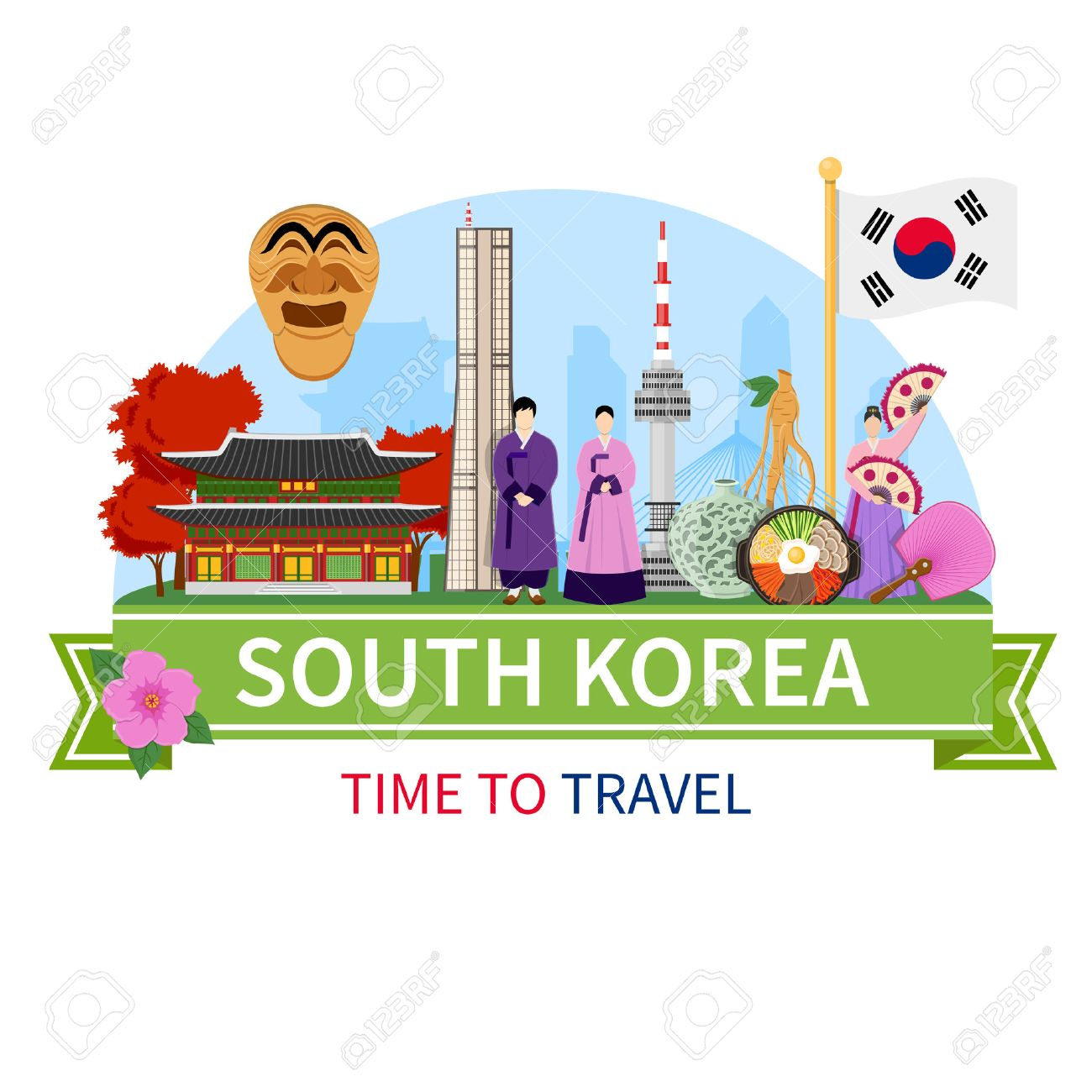South Korea National Cultural Symbols Sightseeing Places Of Interest