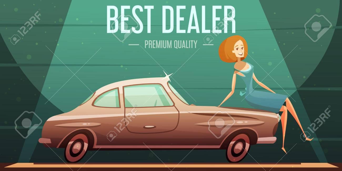 Best Selling Vintage Cars Dealer Premium Service Low Prices Retro ...