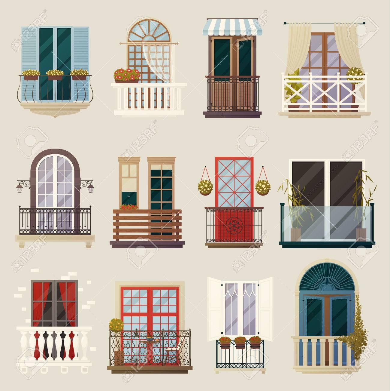 Haus Aussen Design Ideen Mit Modernen Vintage Und Klassischen Balkone