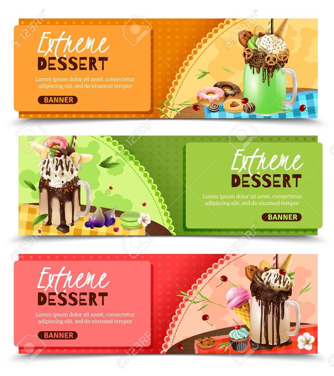Super Sweet Rich Extreme Desserts Recipes Ideas 3 Horizontal ...
