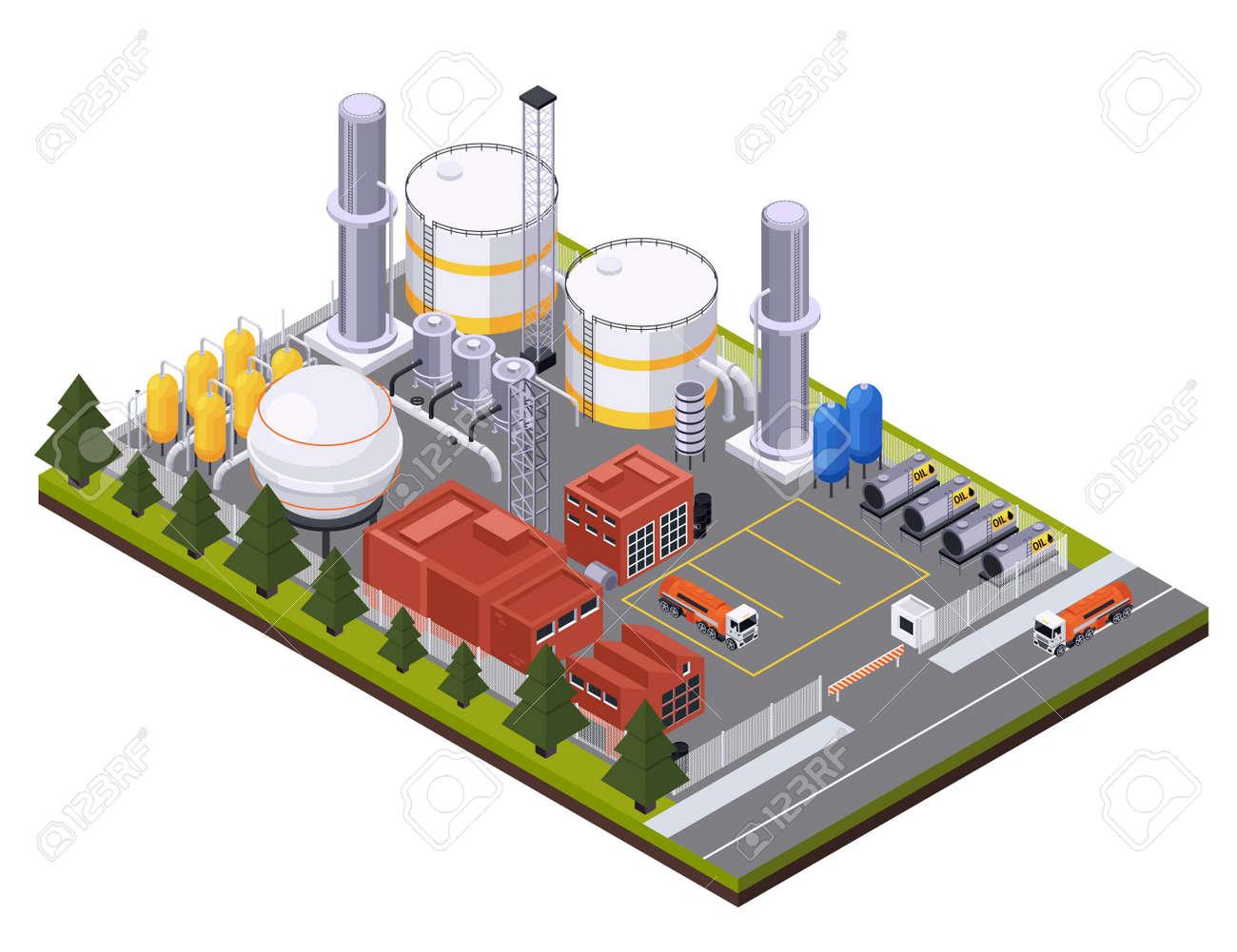 Petroleum Processing Plant Composition - 168667120