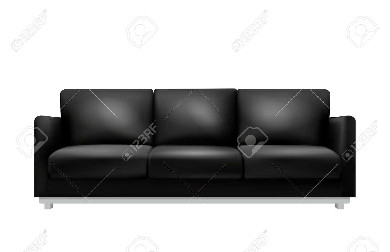 Sofa Realistic Illustration - 169372168