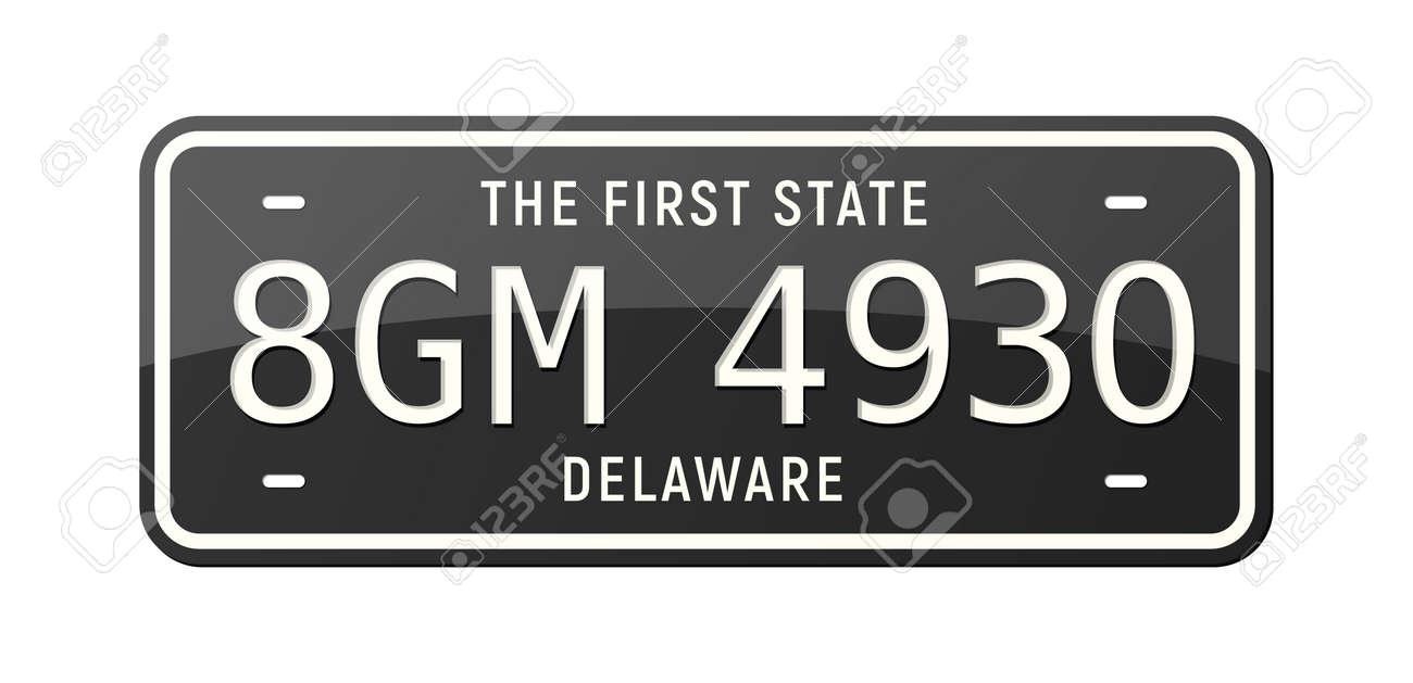 Realistic Car Number - 171636297