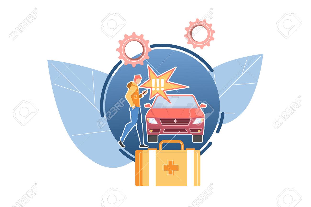 Car Accident Concept - 171721589