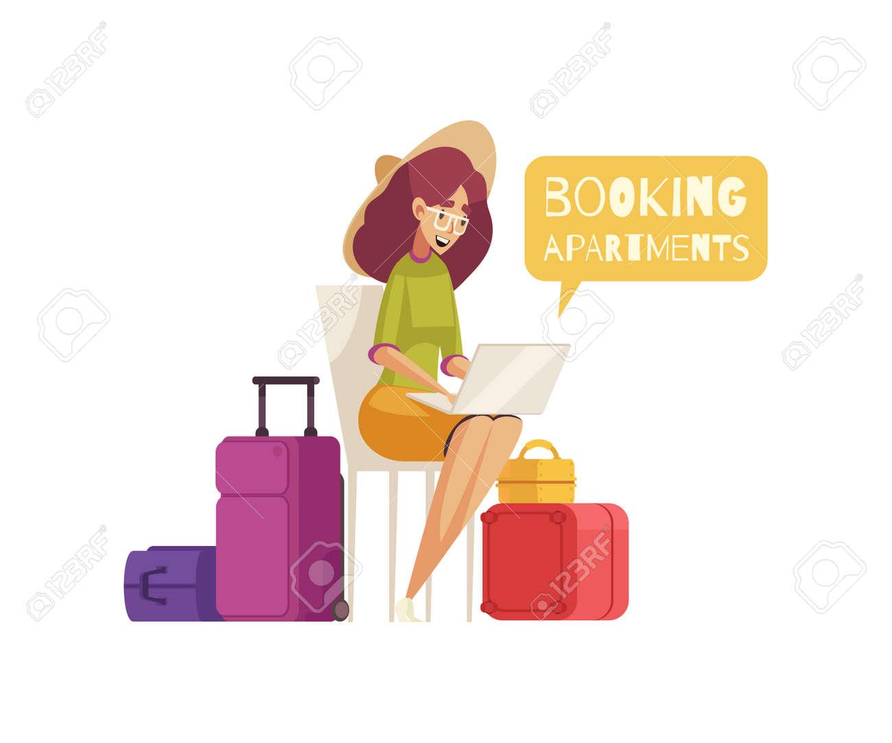 Travel Cartoon Composition - 171721608