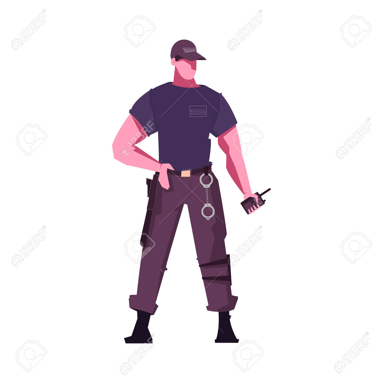 Security Guard Icon - 171558585