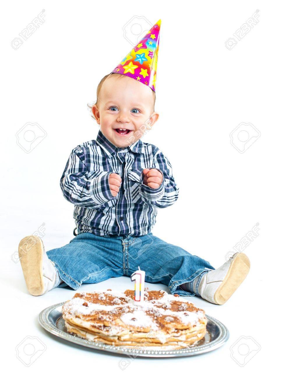 First birthday. Stock Photo - 9132216