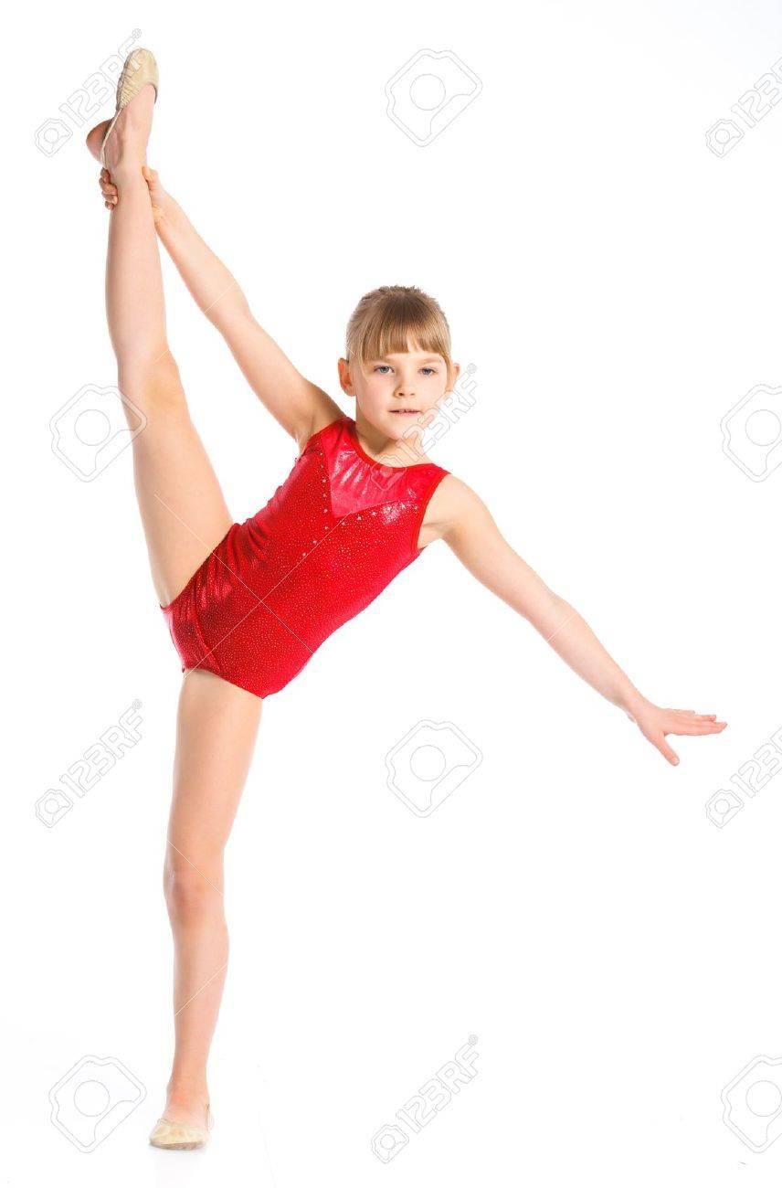 Русские маленькие гимнастки 9 фотография
