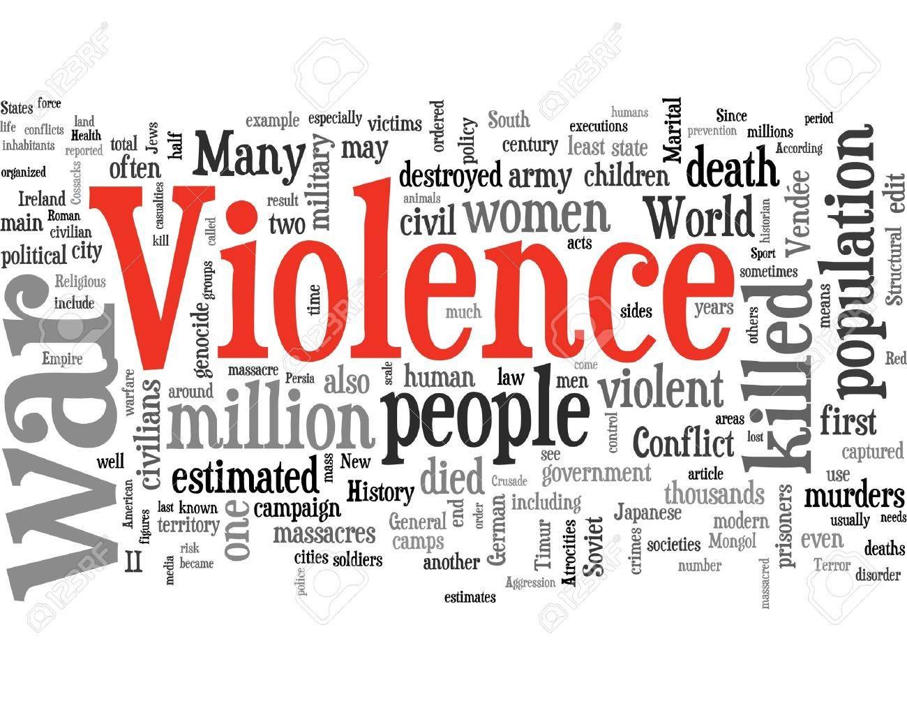 violence Stock Photo - 6312021