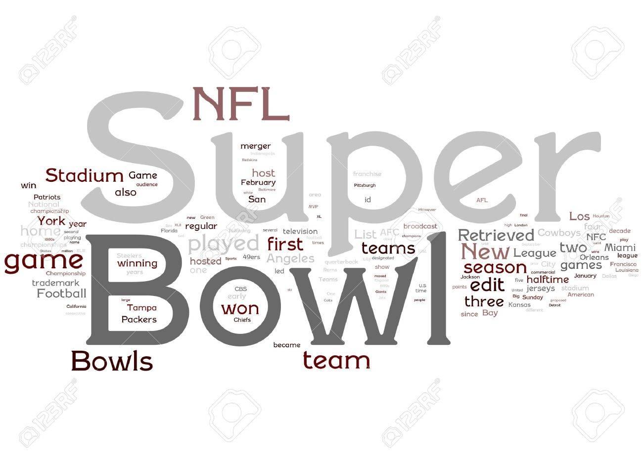 Super Bowl illustration Stock Illustration - 6640837