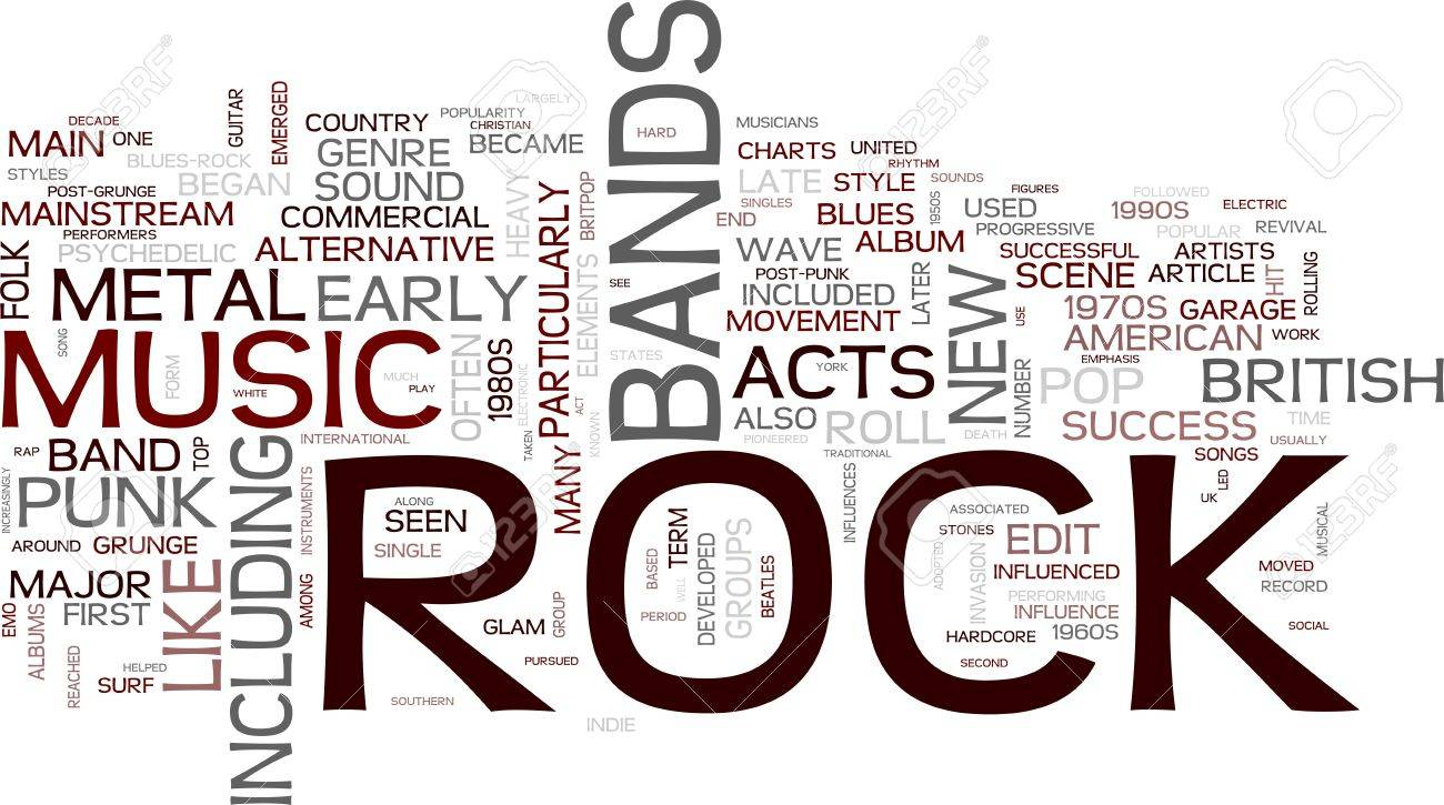 Rock and roll - Music Stock Photo - 12178059