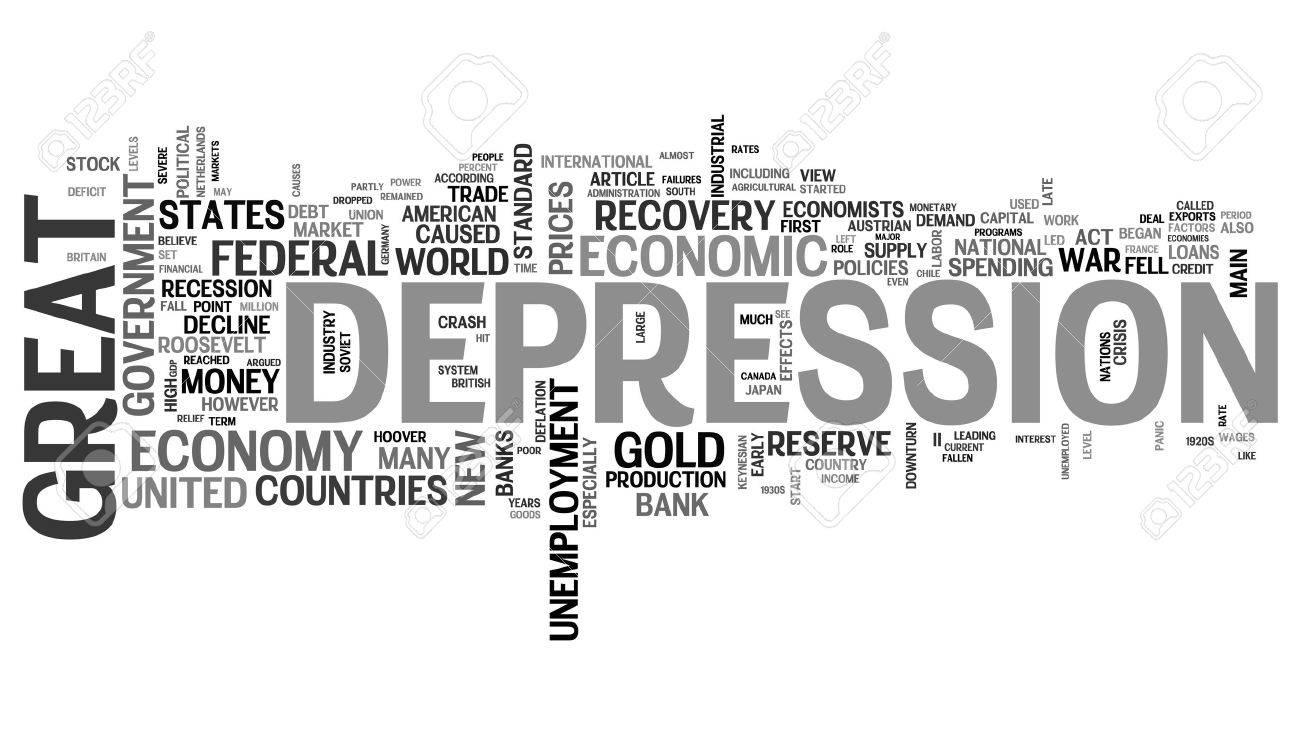 Great Depression - economic crisis Stock Photo - 12178076