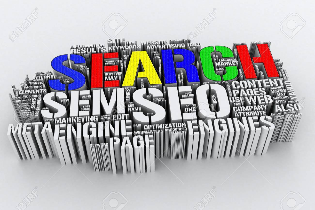 Search Engines and SEO (Search engine optimization) Stock Photo - 6686995