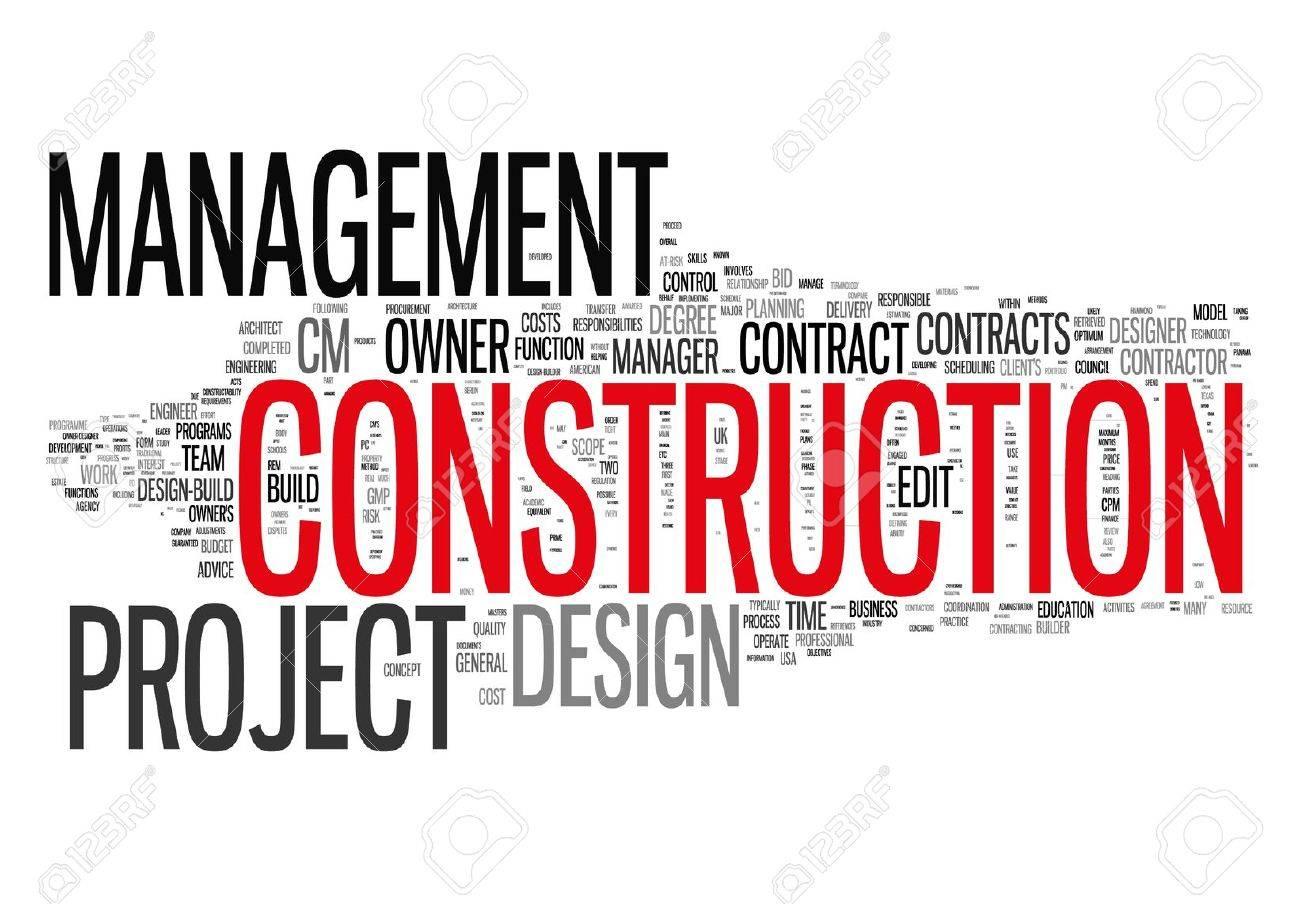 Construction Management Project Stock Photo - 19163142