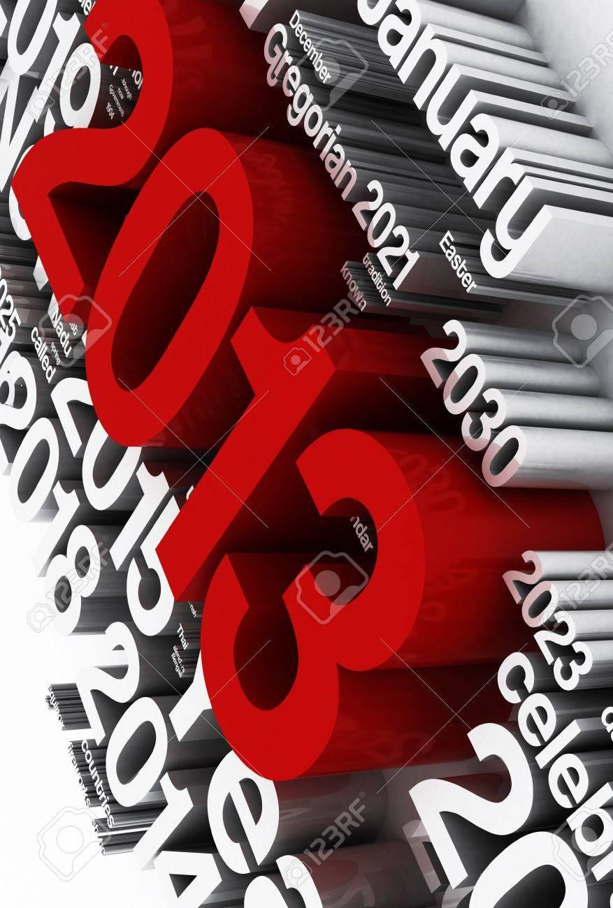 2013 Stock Photo - 16436045