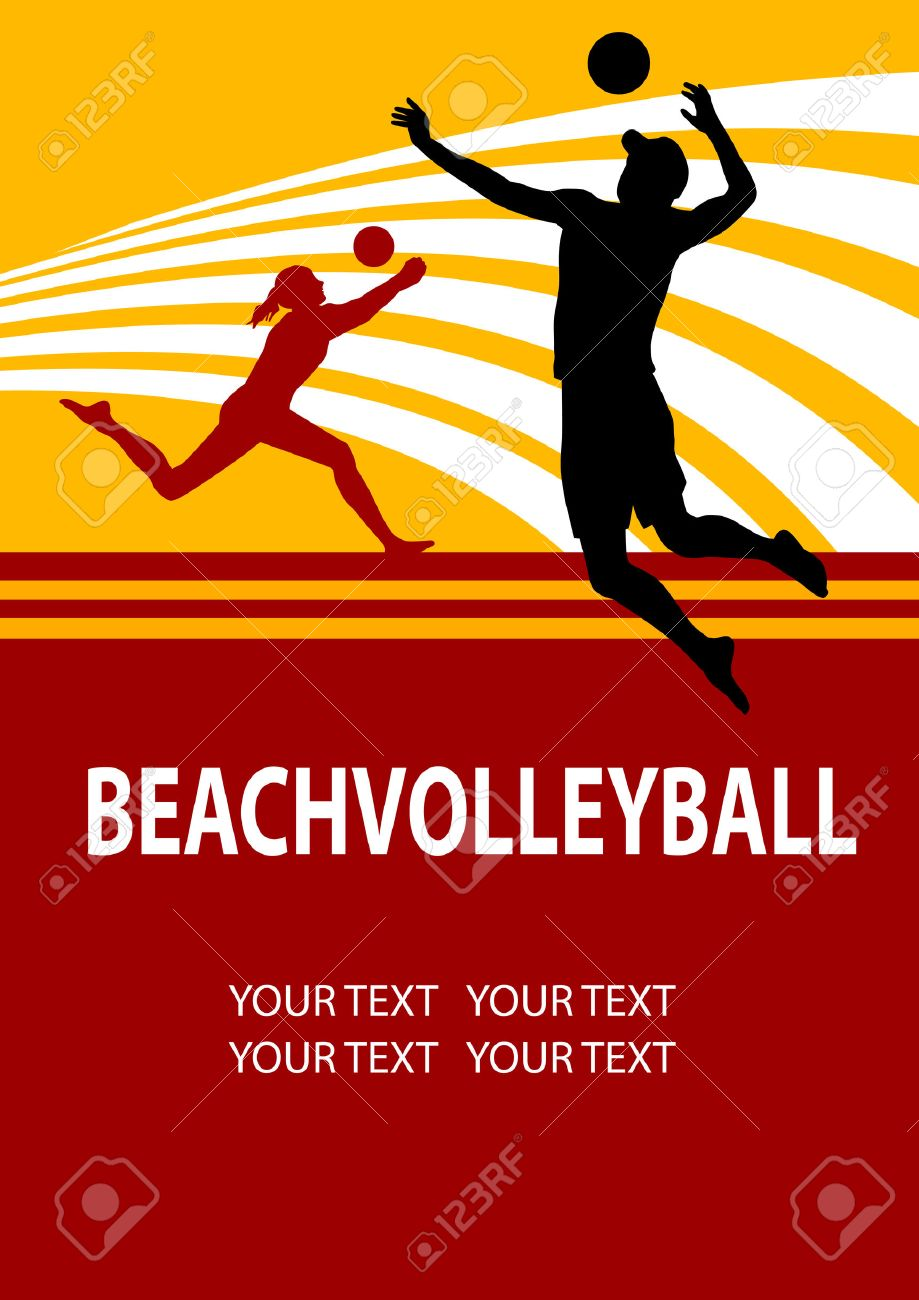 Beach Volleyball Poster Beach Volleyball Poster