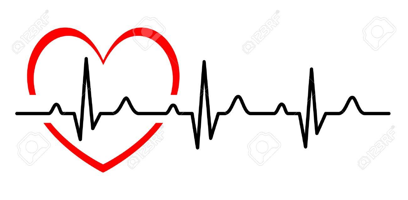 illustration abstract heart beats cardiogram royalty free cliparts rh 123rf com ekg vector diagram ecg vector map