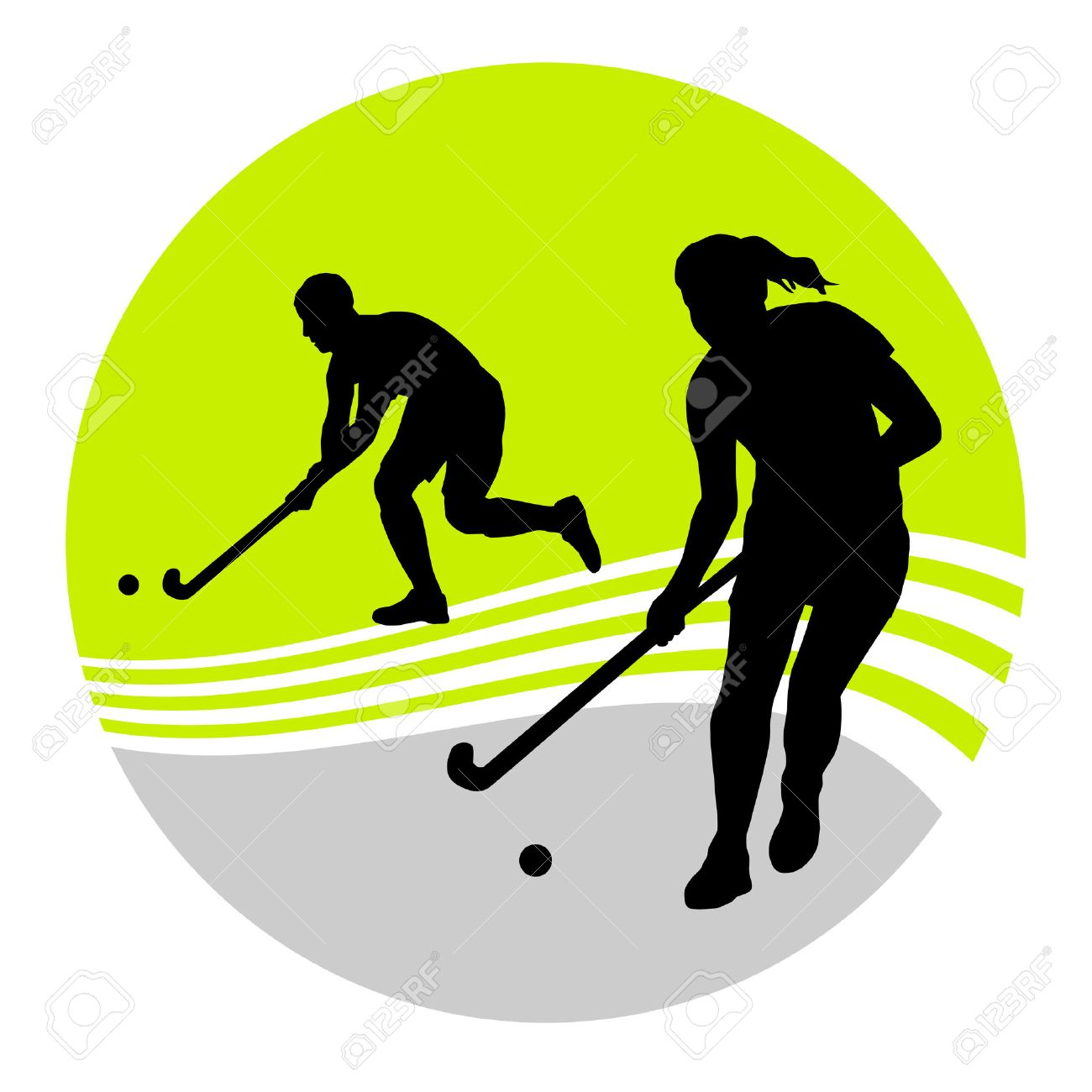 1,556 Field Hockey Game Stock Vector Illustration And Royalty Free ...