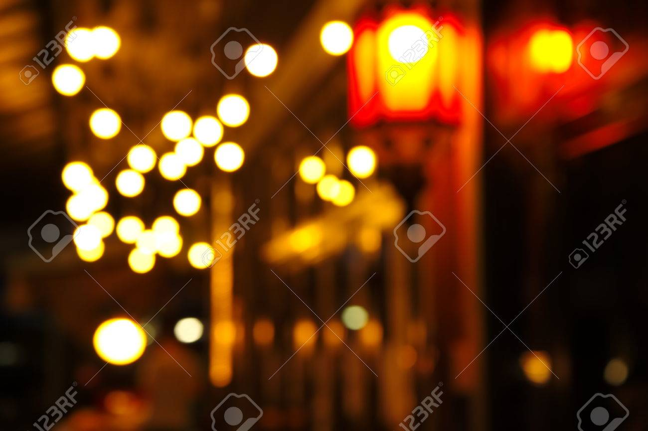 Blur Lamp Light In The Street Corner Of Bar Background Stock Photo Picture And Royalty Free Image Image 63435831