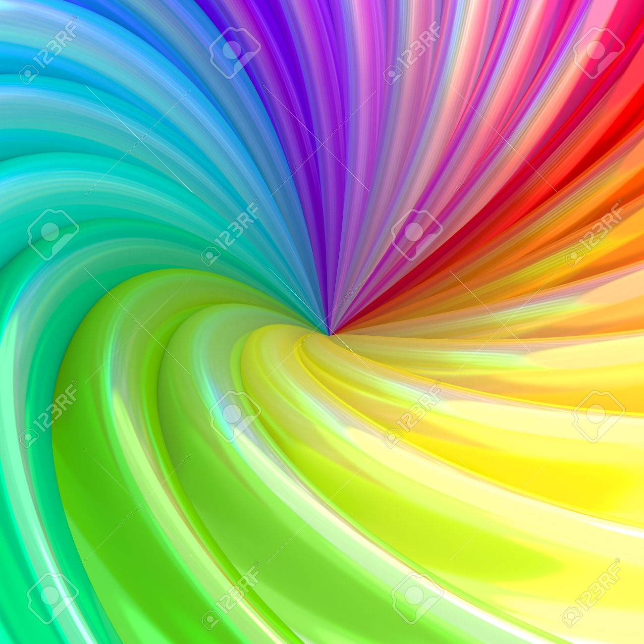 Abstract Background Of Colorful Swirl Pipes High Resolution