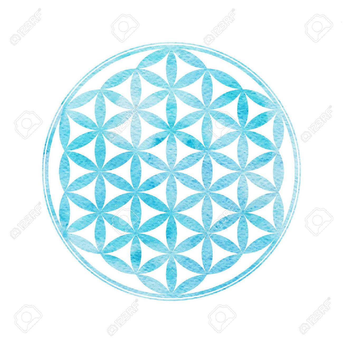 flower of life sacred geometry vector element with watercolor rh 123rf com sacred geometry vectors royalty free vectors sacred geometry vector set meaning