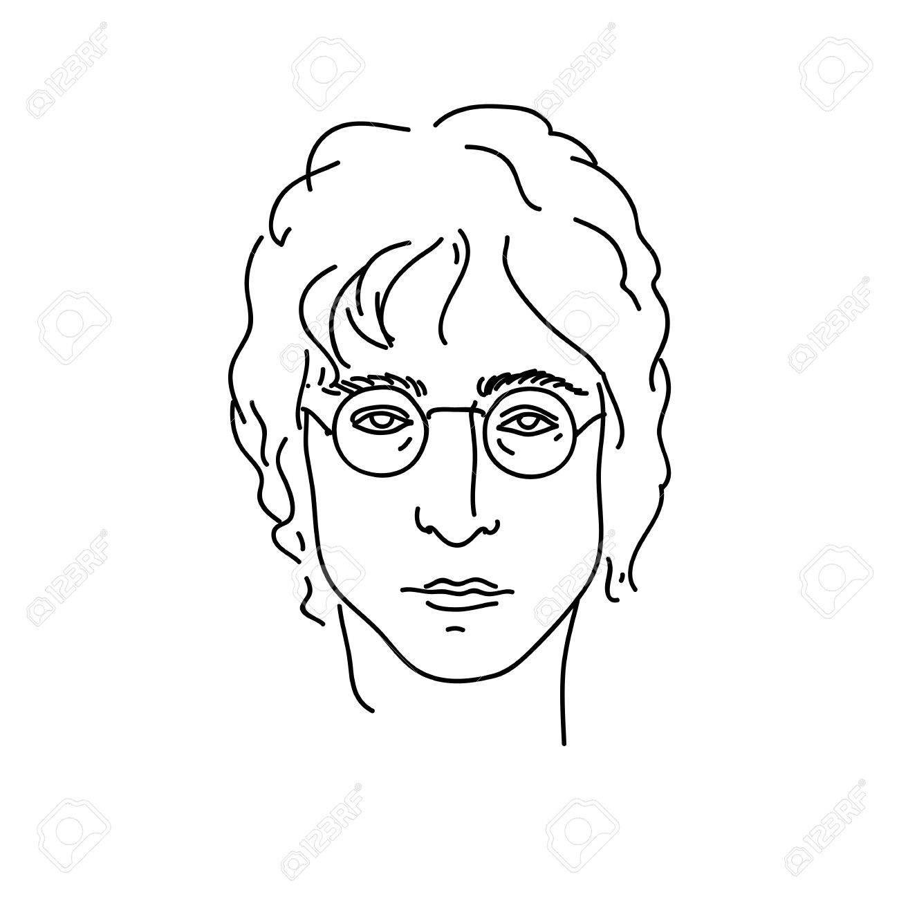 September 19 2017 creative portrait of john lennon musician september 19 2017 creative portrait of john lennon musician from beatles line buycottarizona
