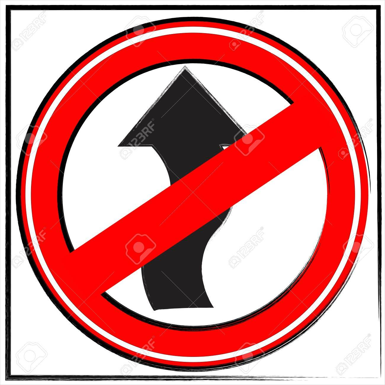 Road Sign Stop Sign Speed Limit Sign Sign One Way Stop Stock