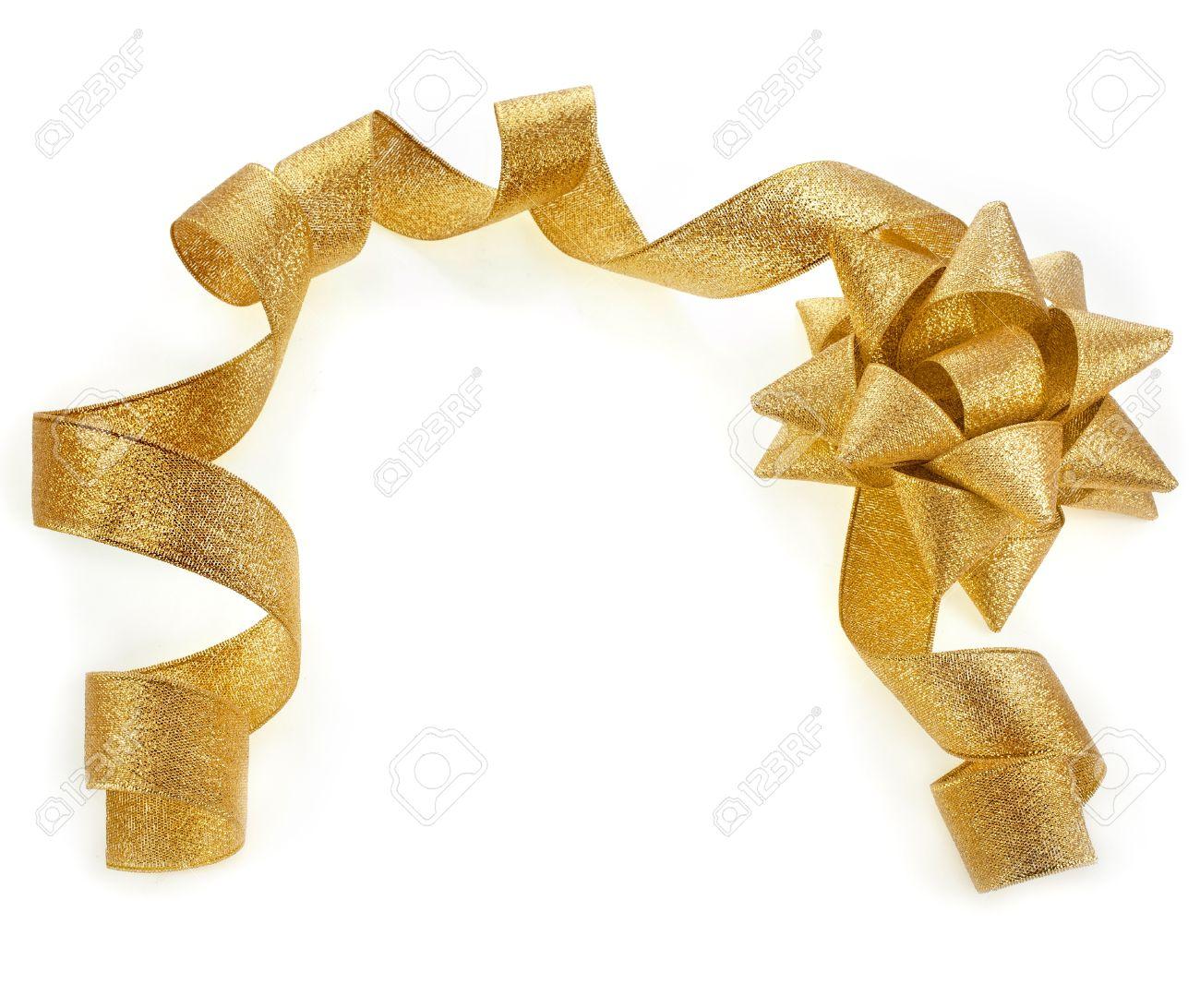 gold ribbon border