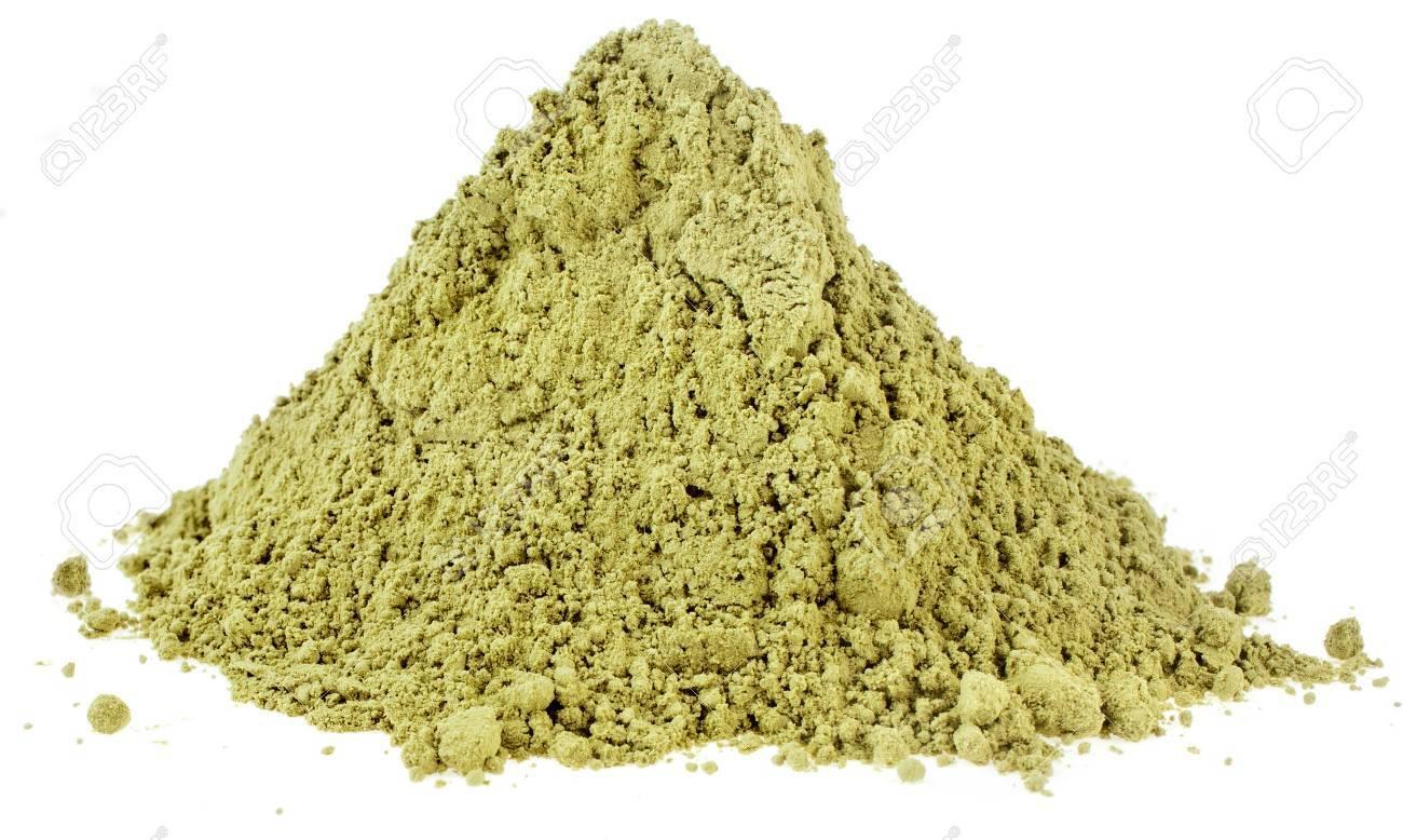 Immagini Stock Mucchio Mucchio Di Matcha Verde Giapponese Del Tè