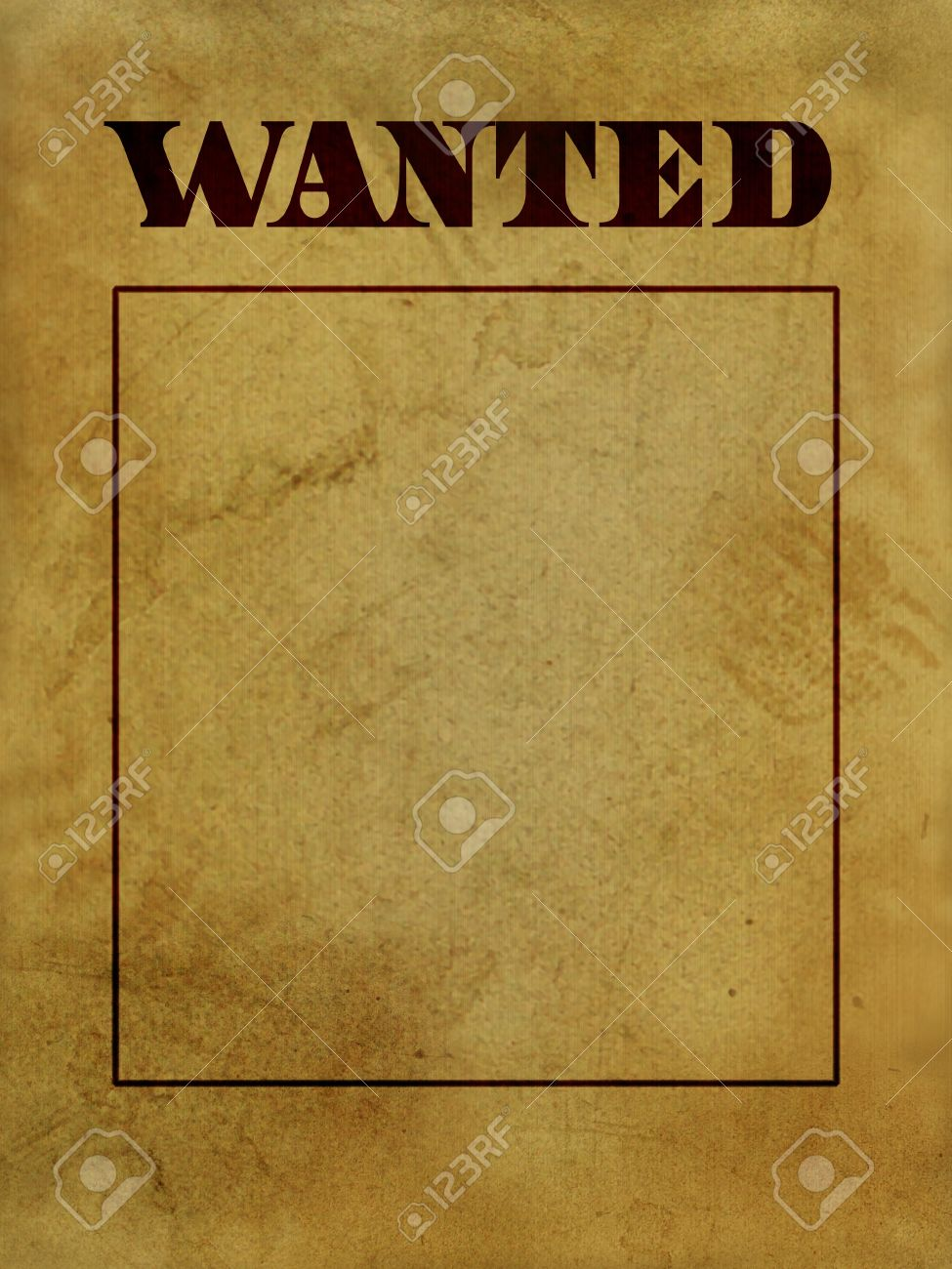 Texure Or Background Of Old West Wanted Poster Photo – Picture of a Wanted Poster