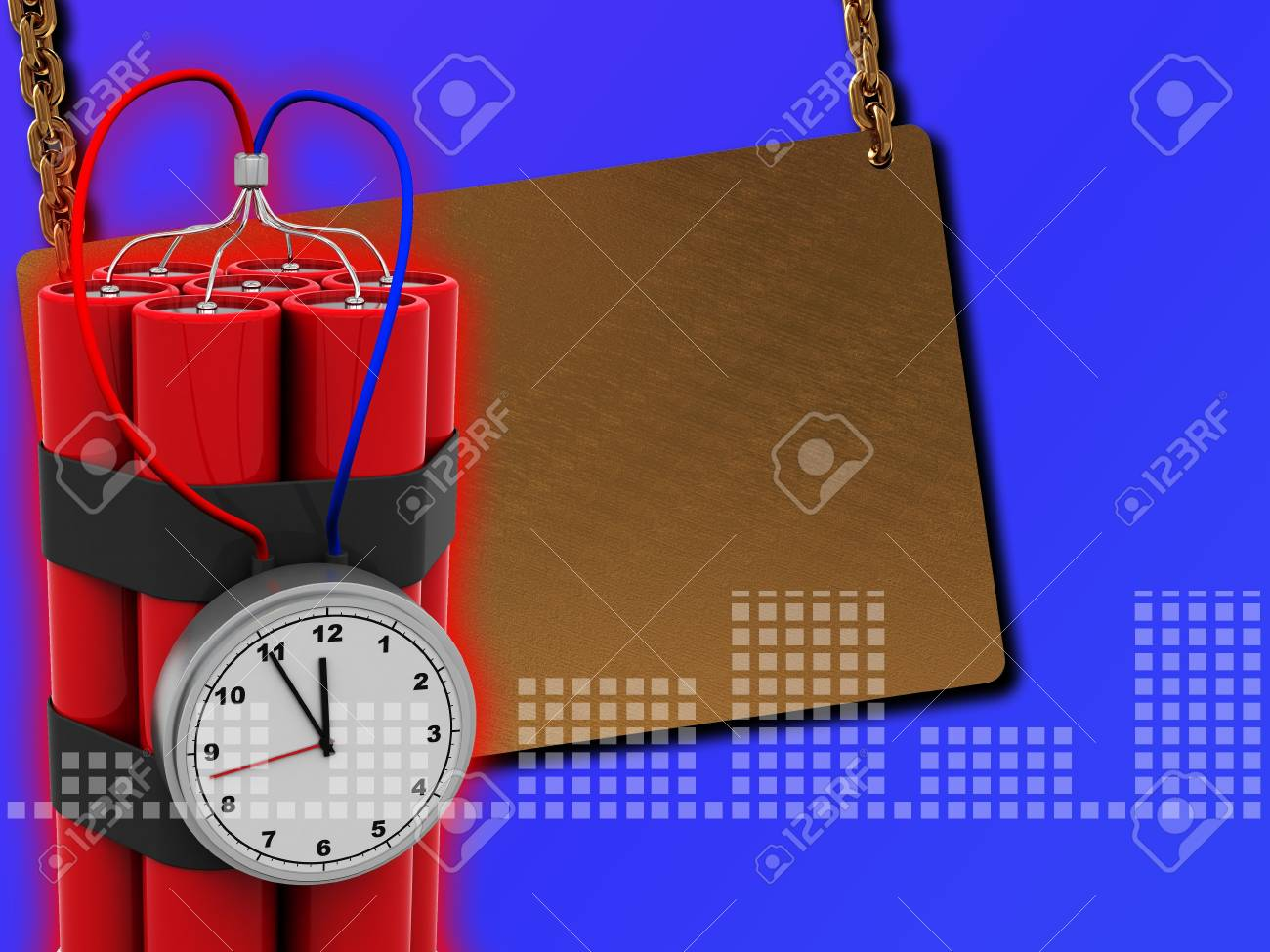 abstract 3d illustration of colorful background Stock Illustration - 5263822