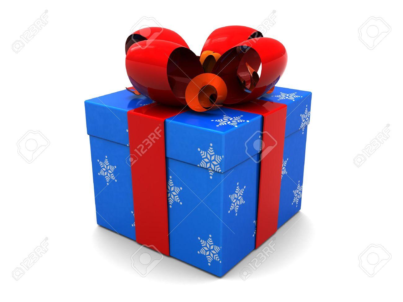 Christmas Present.Stock Illustration