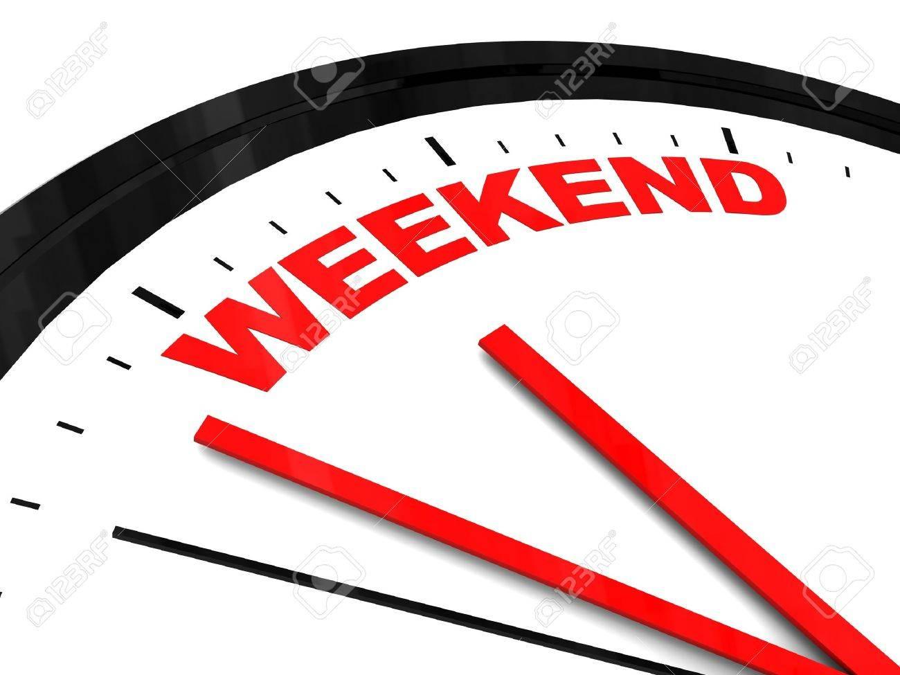 時計 週末
