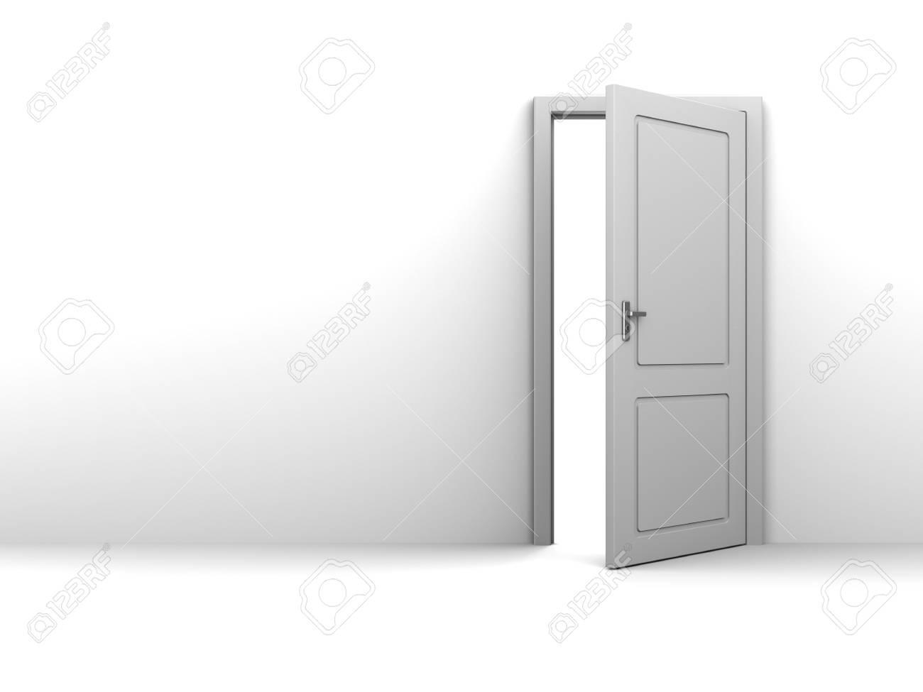 half open door drawing.  Open 3d Illustration Of Background With Half Open Door And Copy Space Stock  Illustration  61545732 In Half Open Door Drawing