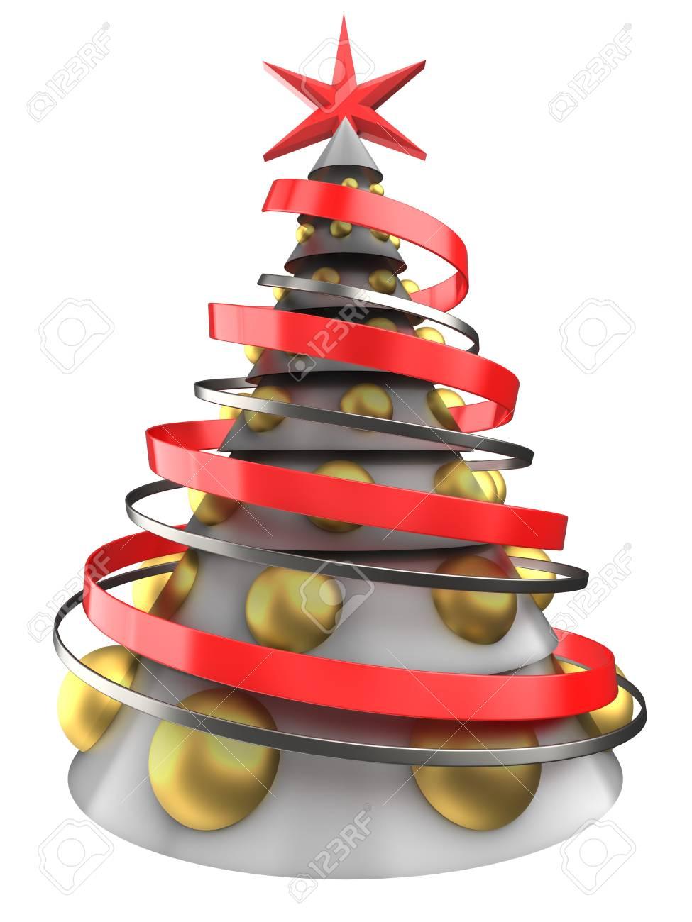 White Christmas Pie.Stock Illustration