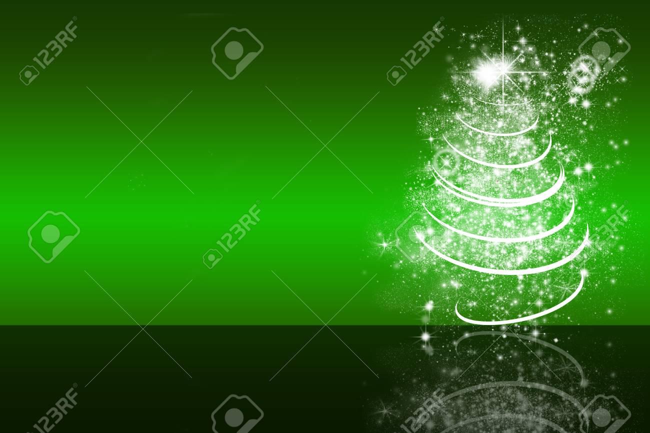 Immagini Stock Illustrazione Di Albero Di Natale Bianco Sfondo
