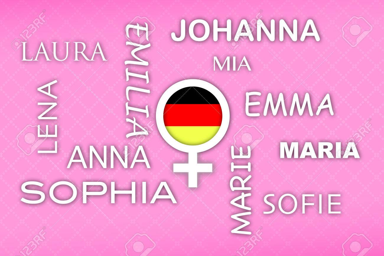 most popular german newborn girl names with german flag button