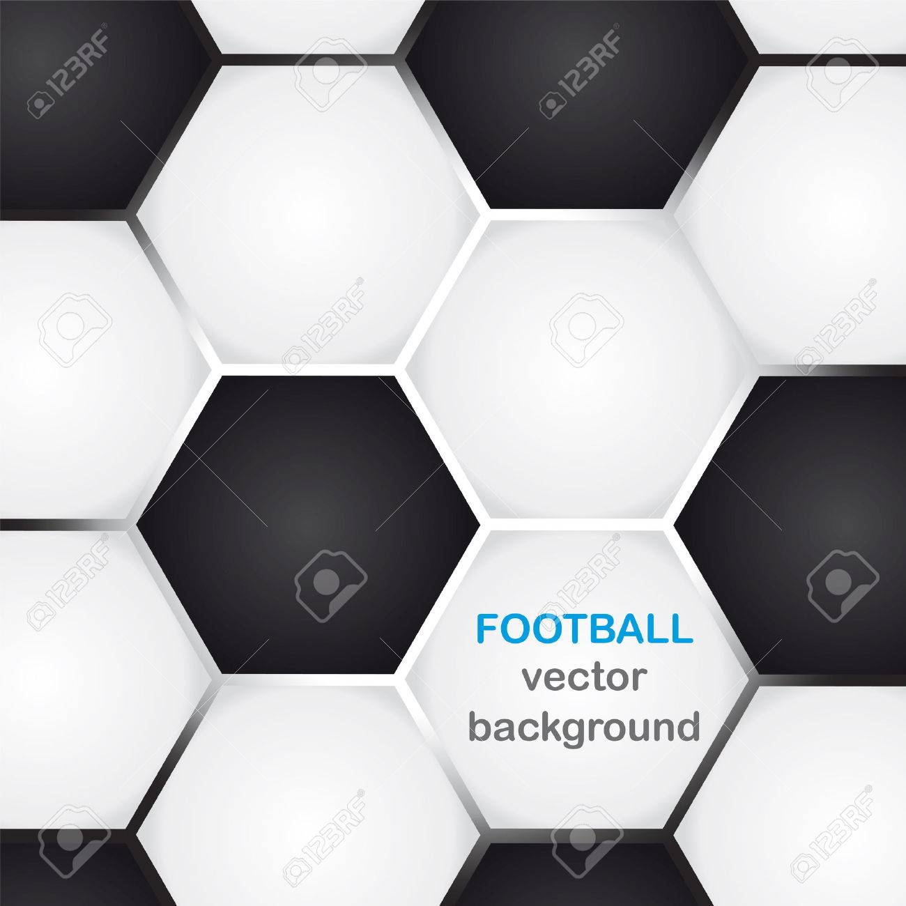 background with classic football texture and copy-space - 50145190