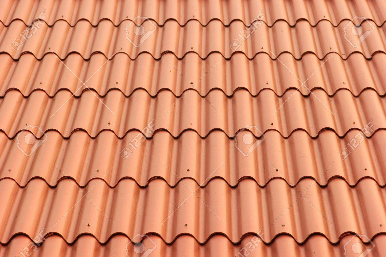 Roofing Tiles Stock Photo   18690831