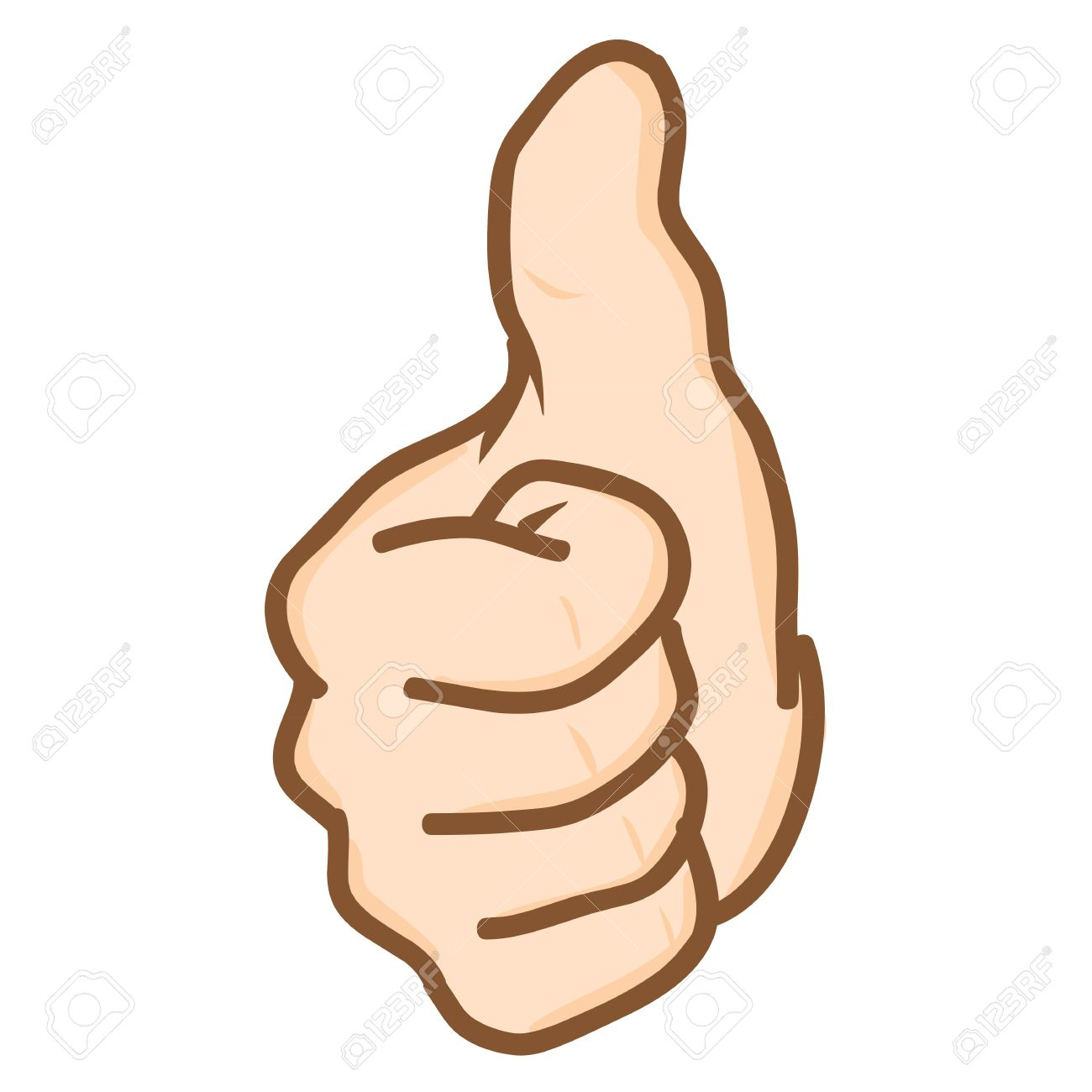 hand draw hand thumbs up vector royalty free cliparts vectors and rh 123rf com thumbs up vector image thumbs up vector free